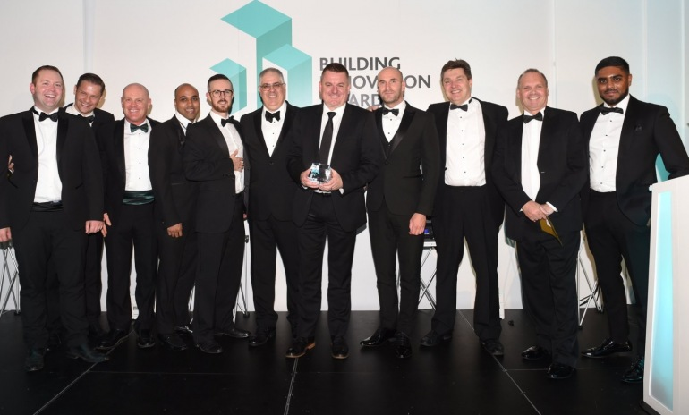 Ardent Hire Wins the Most Innovative Supplier and Best Health & Safety Innovation at the Building Innovation Awards.