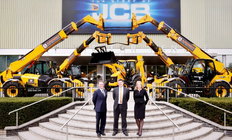 Ardent Places Biggest Ever UK Telehandler Order With JCB