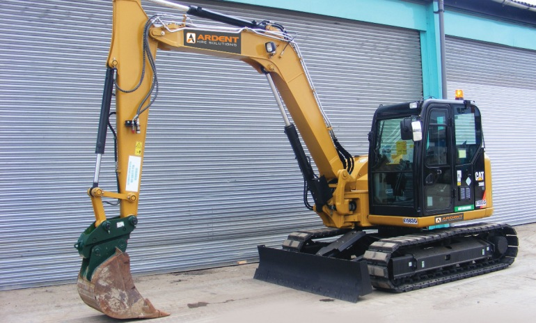 The Cat 308E2 CR SB Mini Hydraulic Excavator from Ardent