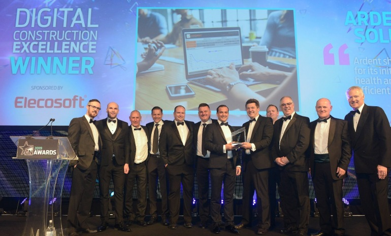 Ardent wins Digital Construction Excellence Award