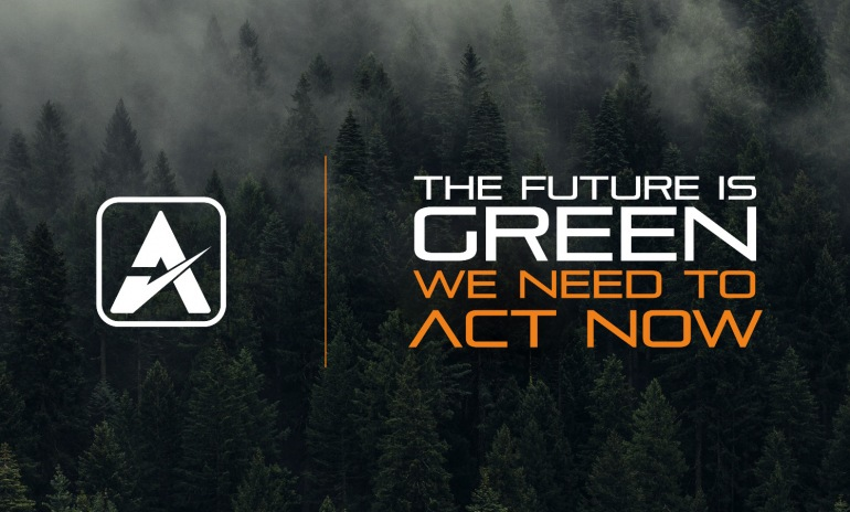 The future is green: we need to act now.