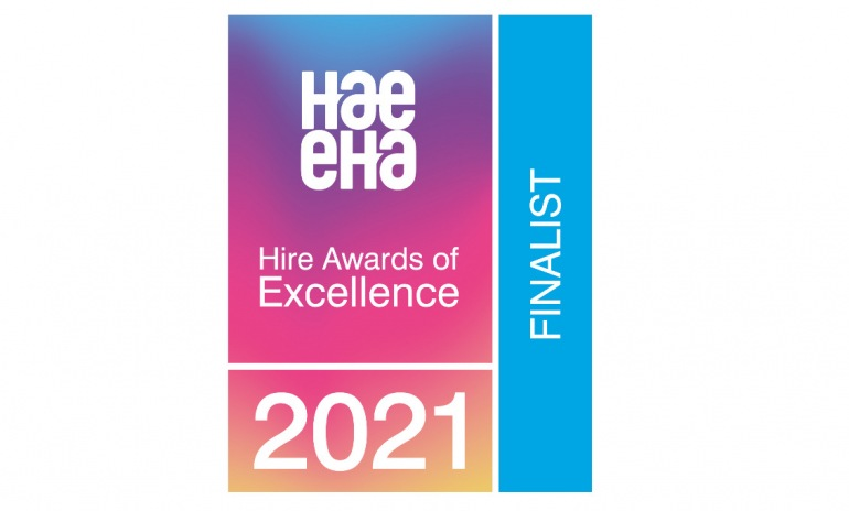 ARDENT IS SHORTLISTED FOR THE HIRE ASSOCIATION OF EUROPE (HAE) AWARDS IN TWO CATEGORIES