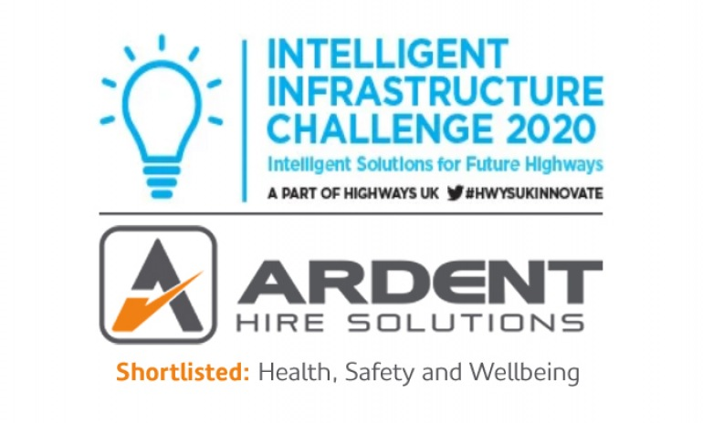 Ardent is shortlisted for Health, Safety & Wellbeing at the 2020 Highways UK Intelligent Infrastructure Awards