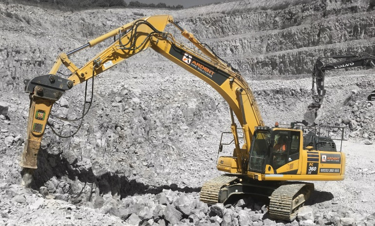 Ardent invest to grow their excavator fleet