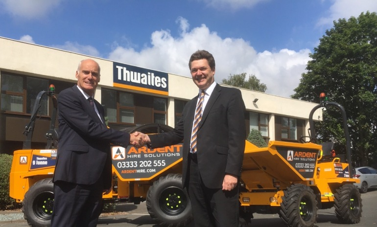 Ardent Places £9 million Order With Thwaites
