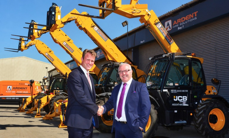 Massive order for JCB as leading hirer Ardent invests big