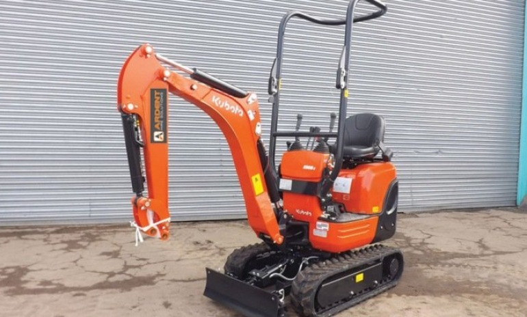 Ardent Hire - Our Range of Mini Excavators