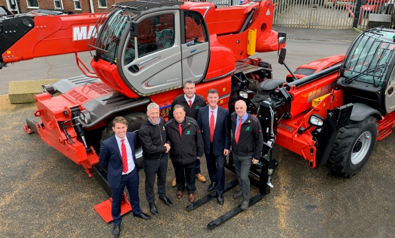 Ardent places £13 million order with Mawsley for new Manitou fleet