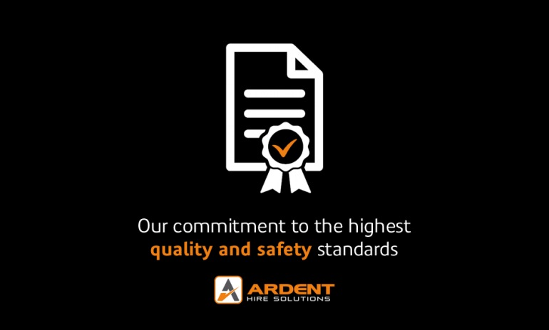 Ardent oozes quality and safety with its impressive list of certifications