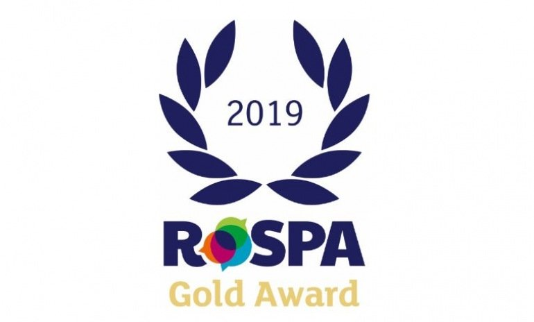 Ardent achieves RoSPA Gold Health & Safety Award