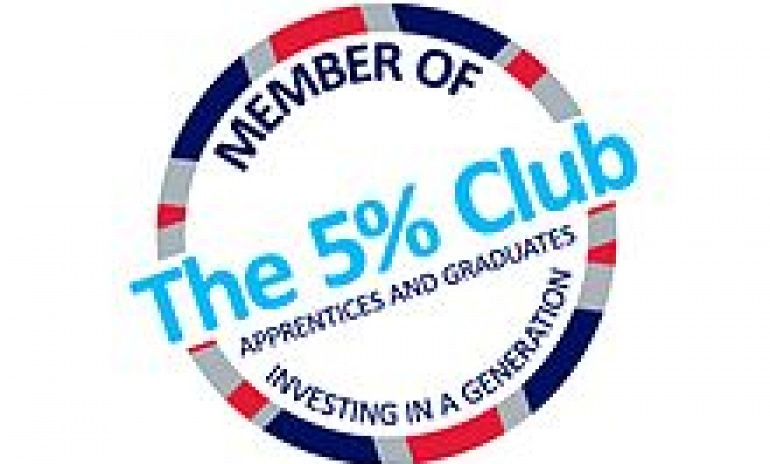 Ardent Hire Solutions commits to the next generation by joining The 5% Club