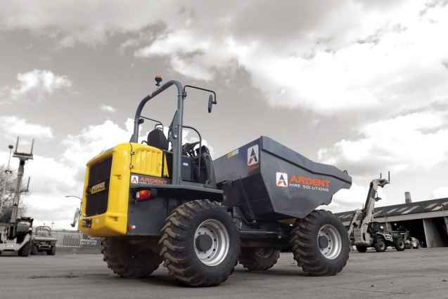 Ardent Hire Wheeled Dumper