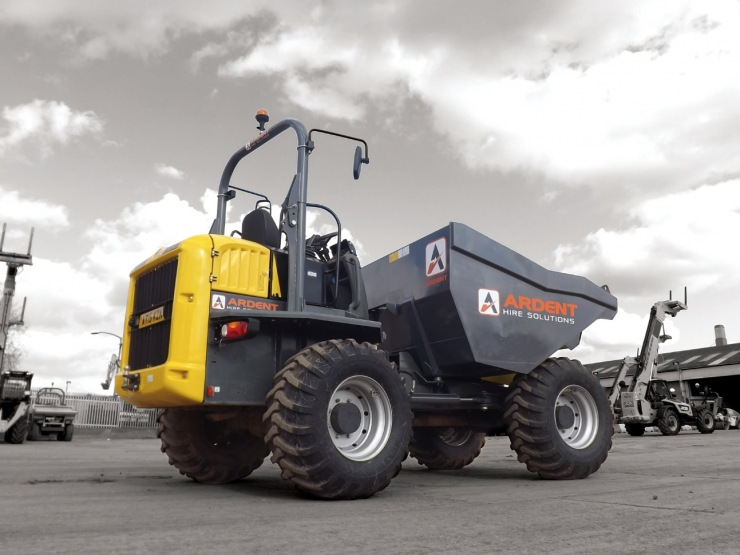 Wheeled and Tracked Dumper Hire