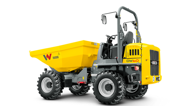 Wacker Neuson DW60 Swivel  For Sale