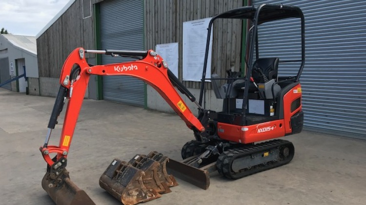 Kubota KX015-4  For Sale