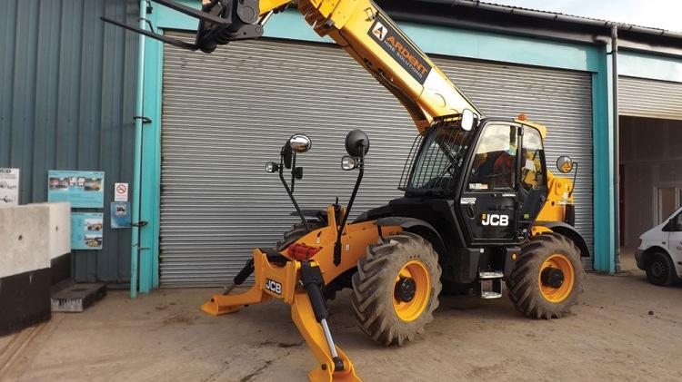 JCB 540-170 Hire | Telehandlers & Forklift Hire, UK, Online