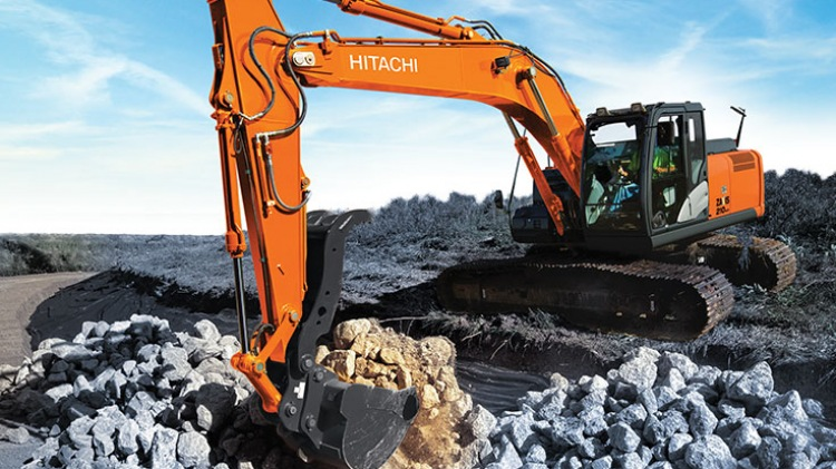 Hitachi ZX210 LC-5  For Sale